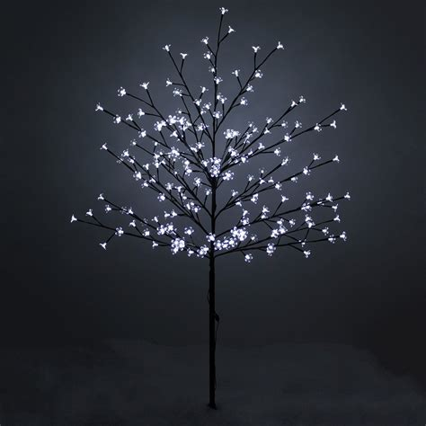 white led light up cherry blossom christmas tree