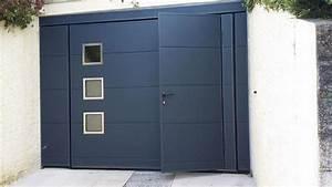 Porte de garage basculante sur mesure Pose en Alsace