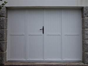 galerie photos volets portes de garage With porte garage battant pvc