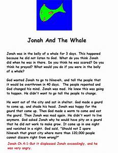 Jonah and The Whale Sunday School Lesson 2