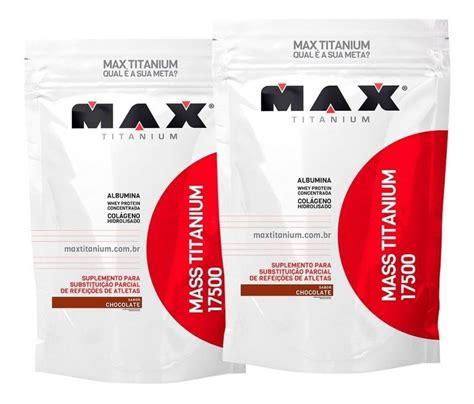 Hipercalórico Max Titanium 3kg - Mercado Bom Sucesso