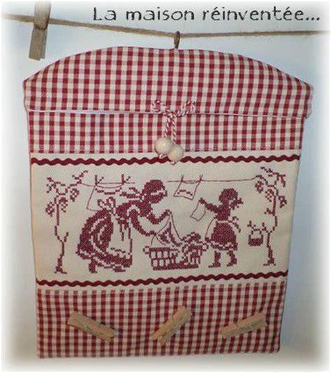sac pinces 224 linge quot les lavandieres quot photo de l atelier du fil la maison r 233 invent 233 e boutik