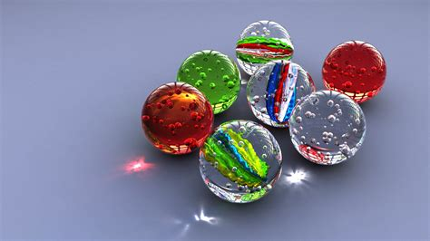 Marbles glass circle bokeh toy ball marble sphere (12
