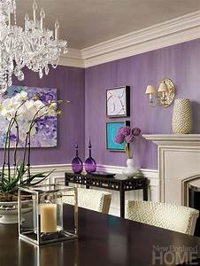 Awesome, Purple, Living, Room, Wall, Color, Ideas, 192510
