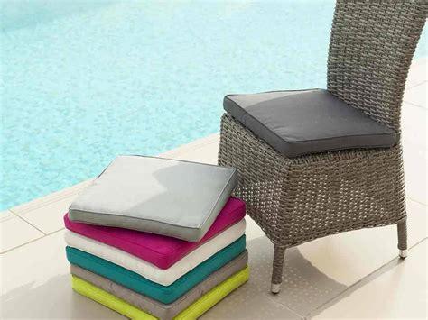 galette de chaises galette de chaise de jardin 40 x 40 cm