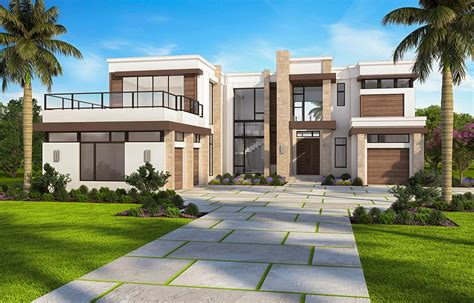 marvelous contemporary house plan  options bw