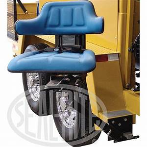 Suspension Seat With Mounting Brackets (Option) – Seal-Rite