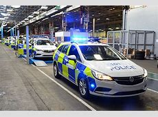 Inside Vauxhall's new Luton police car factory the biggest