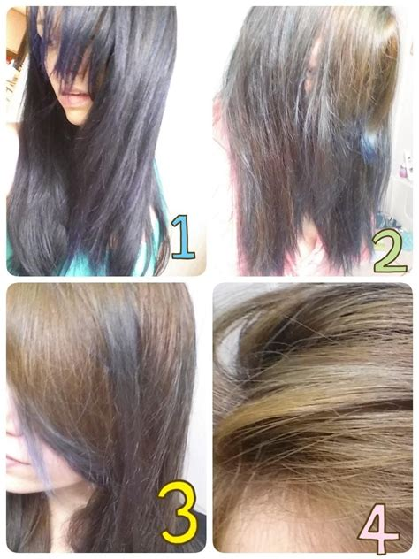 pravana hair color pravana artificial hair color extractor before and after