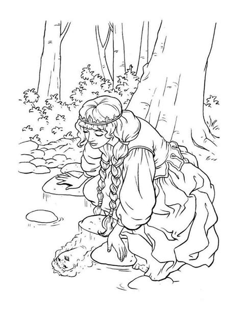 queen  princess coloring pages images