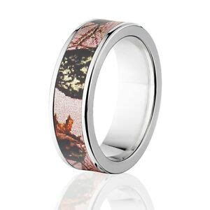camo rings mens camo wedding bands licensed mossy oak pink break up rings ebay