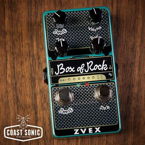 rock box zvex vertical sonic reverb