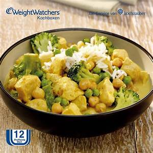 Hähnchencurry Low Carb : w rziges h hnchencurry mit broccoli und kichererbsen aus der weight watchers kochbox weight ~ Buech-reservation.com Haus und Dekorationen