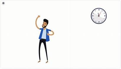 Animation Characters Powtoon Settings Props Moving Clock