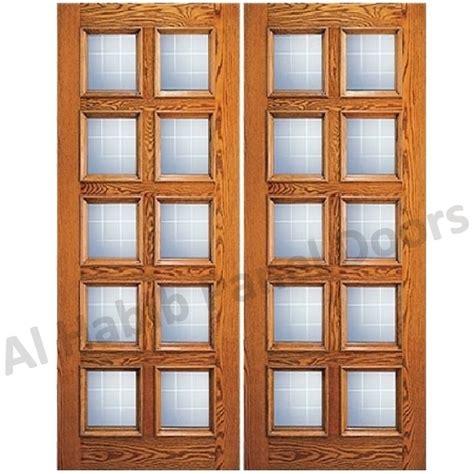 wooden door with glass panel glass wooden door hpd478 glass panel doors al 1958
