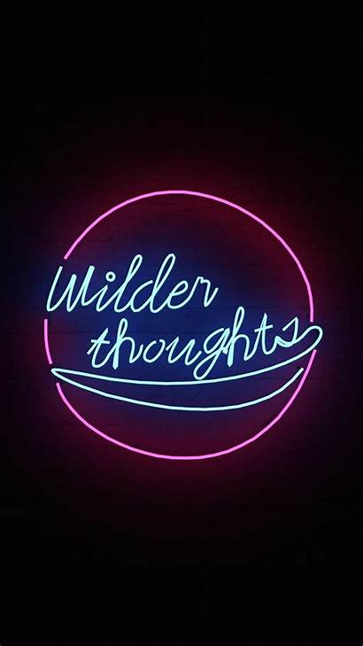 Neon Iphone Aesthetic Wallpapers Quotes Signs Lights