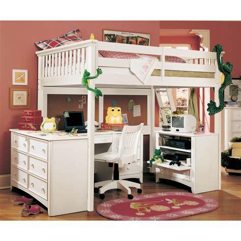 loft bed with desk Habitaciones chulas Literas