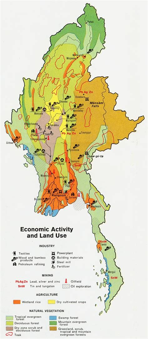 burma myanmar maps perry castaneda map collection ut