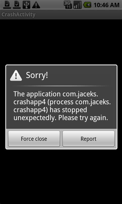 android crash report new android app crash report tool already up and running