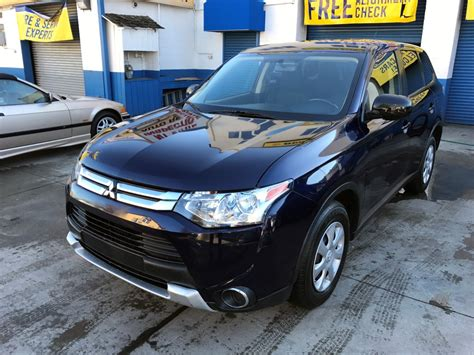 Used Mitsubishi Outlander For Sale by Used 2015 Mitsubishi Outlander Es Suv 12 490 00