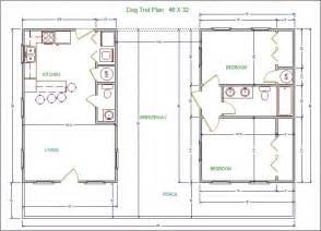 dogtrot cabin plans lssm13 trot plan lonestar builders