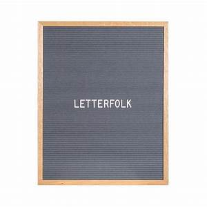 the writer grey 16quot x 20quot letter board letterfolk With letter board gray