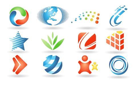 free logo design and set of logo design elements free vector logo template