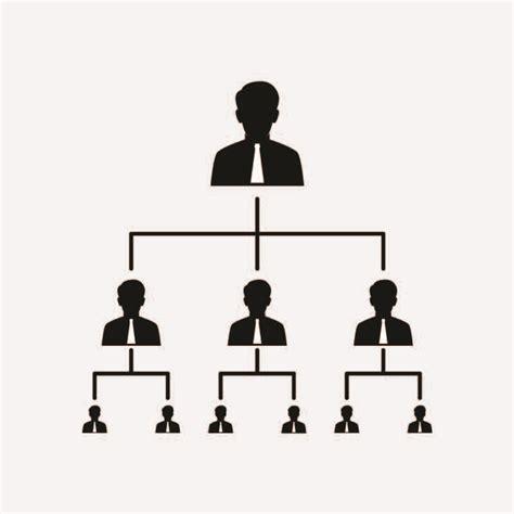 business organization chart icon design