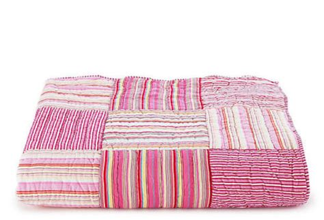 Pottery Barn Kids Bright Stripes Bedding