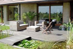 Deco terrasse exterieur maison for Superior salon de jardin pour terrasse 1 decoration salon halloween