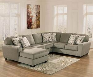 ashley furniture patola park patina 4 piece small With ashley furniture sectional sofa with chaise