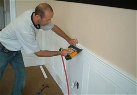 How To Install Raised Panel Wainscoting by Raised Panel Wainscot Installation Providers Of Panel