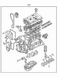 1996 Hyundai Accent Engine Diagram