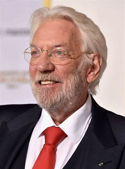 Sutherland Donald Actor Cast Hunger Games Canadian