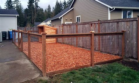 The Finished Dog Kennel Includes A Steel Fence With