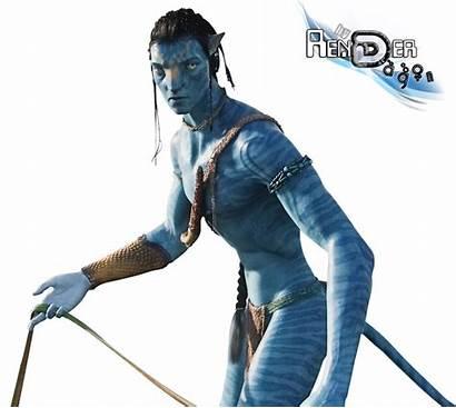 Avatar Jake Sully Film Transparent Render Renders