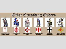 Religious Units Priests, monks, and crusaders