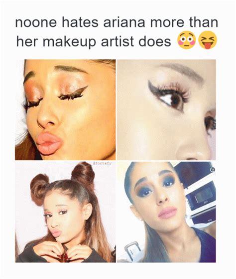 Meme Make Up - ariana grande makeup meme mugeek vidalondon