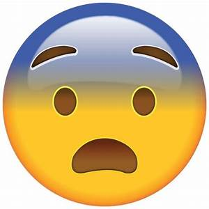 Fearful Face Emoji - Feeling a little frightened? This ...