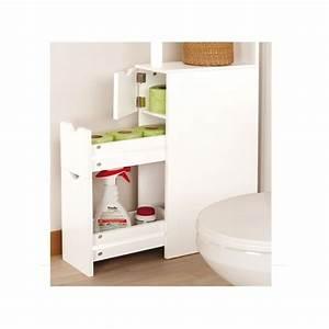 Petit Meuble Pour Wc : 2 meubles wc pour ranger 2 fois plus pack promo ~ Teatrodelosmanantiales.com Idées de Décoration