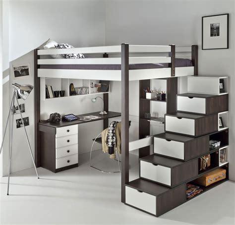 lit mezzanine avec bureau pour ado mezzanine ado chic dcopin