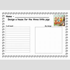 Design A House For The 3 Little Pigs By Ruthbentham  Teaching Resources