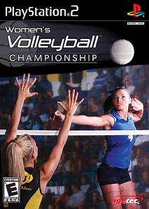 Women's Volleyball Championship Sony Playstation 2 Game
