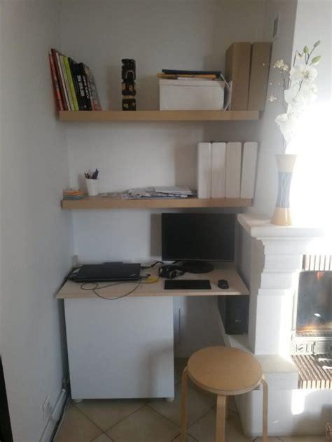 bureau pour salon un coin bureau dans le salon