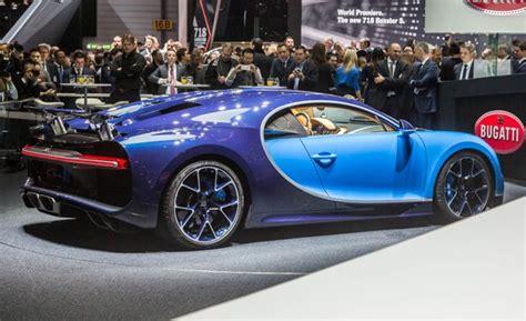 2017 Bugatti Chiron Official Photos And Info  News Car