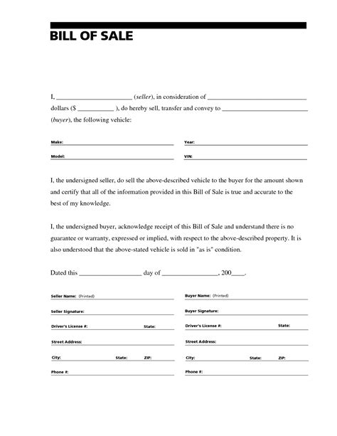where do i get a bill of sale form printable sle bill of sale for rv form forms and