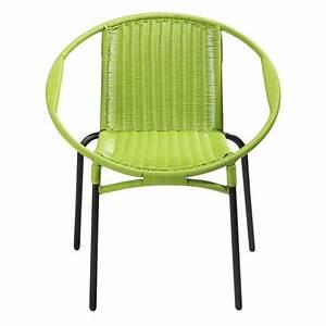 Fauteuil De Jardin Rond : fauteuil de jardin rond vert rio maisons du monde ~ Teatrodelosmanantiales.com Idées de Décoration
