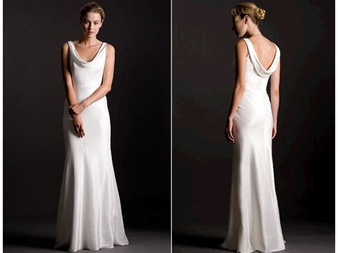 25+ Best Ideas About Cowl Wedding Dress On Pinterest