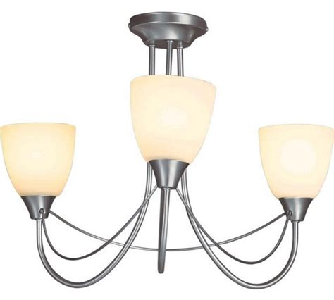 sale on argos home symphony 3 light ceiling fitting