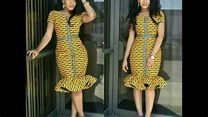 robe courte africaine de soiree youtube With model robe courte